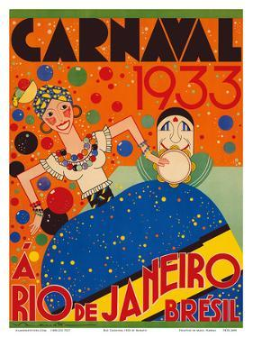 Carnaval (Carnival) 1933 - A Rio de Janeiro, Bresil (Brazil) by Renato