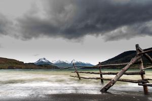 Lake Cerro Dorotea Puerto Natales Chilean Patagonia Chile by Renato Granieri