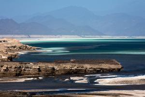 Salt Reserve Lake Assal, Djibouti, Africa by Renato Granieri