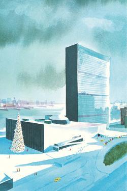 Rendering of Un Buildings