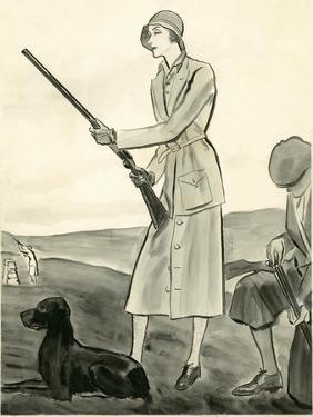 Vogue - August 1930 by René Bouét-Willaumez