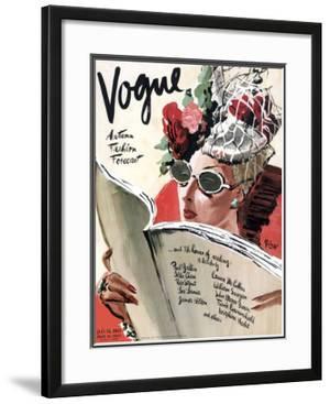 Vogue Cover - July 1941 by René Bouét-Willaumez