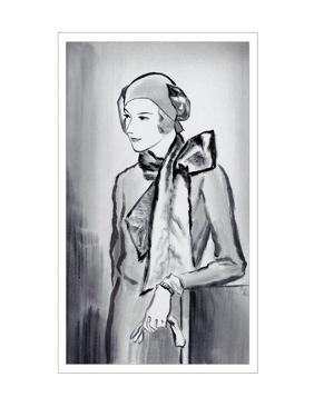 Vogue - March 1930 by René Bouét-Willaumez