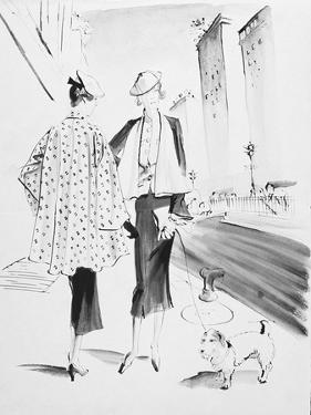 Vogue - March 1936 by René Bouét-Willaumez