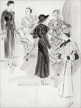 Vogue - May 1933 by René Bouét-Willaumez