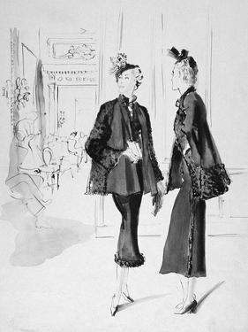 Vogue - October 1935 by René Bouét-Willaumez