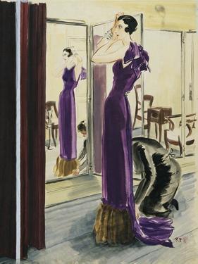 Vogue - September 1933 by René Bouét-Willaumez