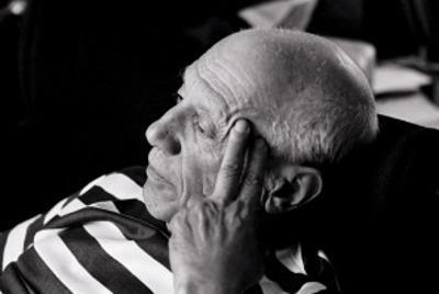 Pablo Picasso, Villa Californie, France by Rene Burri