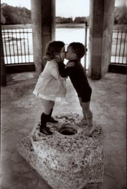Yasmine and David, 1967 by Rene Burri