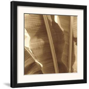 Banana Leaves I by Rene Griffith