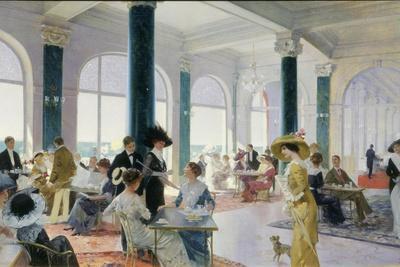 Afternoon Tea, c.1910