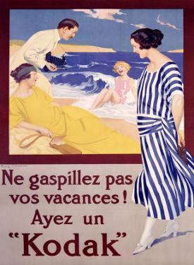 Kodak, Ne Gaspillez Pas by Rene Lelong
