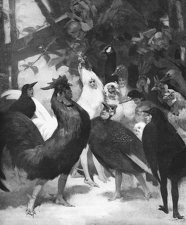 Third Act of the Play Chantecler by Rostand, 1910 by Rene Lelong