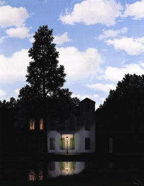 L'Empire des Lumieres by Rene Magritte
