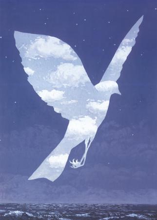L'entree en scene by Rene Magritte
