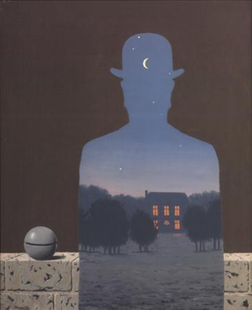 L'Heureux Donateur by Rene Magritte