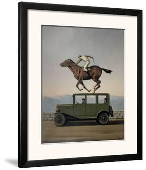 La Colere des Dieux by Rene Magritte