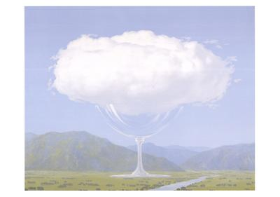 La Corde Sensible by Rene Magritte