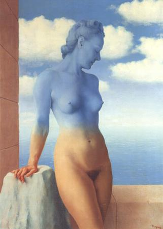 La Magie Noire (No border) by Rene Magritte