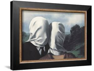 Les Amants (Lovers) by Rene Magritte
