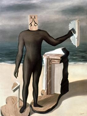 Magritte: Man From The Sea by Rene Magritte