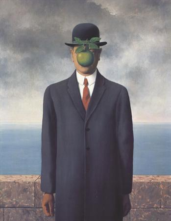 Son of Man (Small) by Rene Magritte