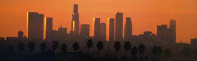 Los Angeles City at Dawn