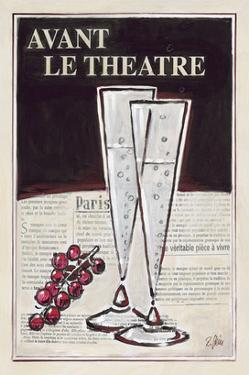 Avant Le Theatre Champagne by Rene Stein