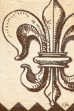 Bourbon Lily Fleur de Lis by Rene Stein