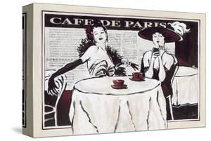 Cafe de Paris Des Dames by Rene Stein