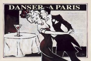 Danser à Paris with Martinis by Rene Stein