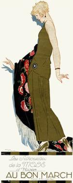 Advert for Bon Marche 1920S by René Vincent