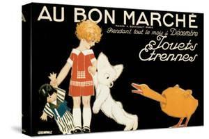 Au Bon Marche, Jouets et Etrennes by René Vincent