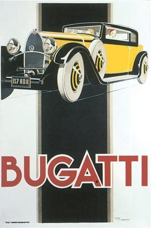 Bugatti by René Vincent