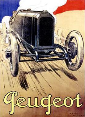 Peugeot, 1919 by René Vincent