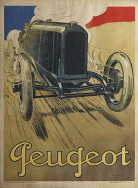 Peugeot by René Vincent