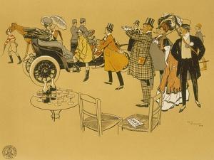 Poster Advertising Berliet Cars, 1906 by René Vincent