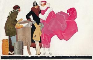 'Poster design Au Bon Marche', c1923 by René Vincent
