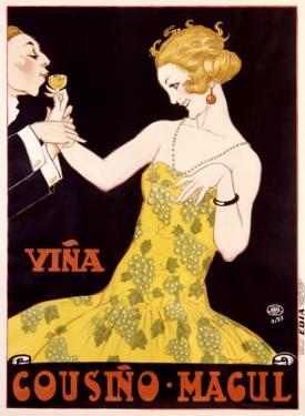 Vina Cousino Magul by René Vincent