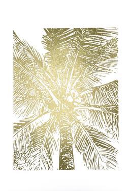 Gold Foil Palm II by Renée Stramel