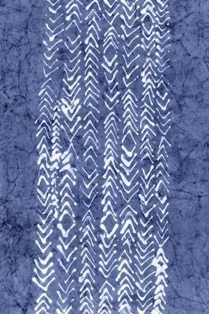 Indigo Primitive Patterns V