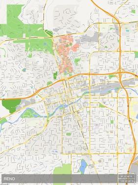Reno, United States of America Map