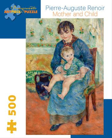 Renoir/Mother And Child 500 Piece Puzzle
