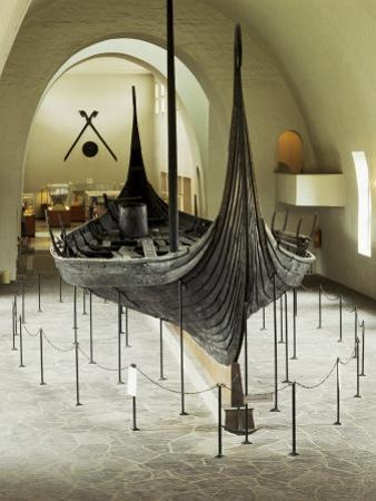 Replica of a Viking Ship, Oseberg, Oslo, Norway, Scandinavia by G Richardson