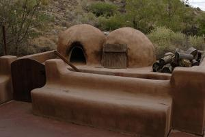 Reproduction of an Old Adobe Ovens for Making Bread, Petroglyph National Monument, United States