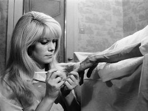 REPULSION, 1965 directed by ROMAN POLANSKI Catherine Deneuve (b/w photo)