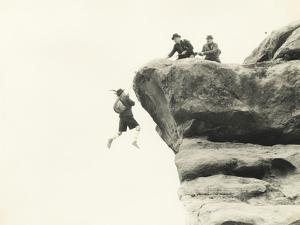 Rescuing Mountain Climber