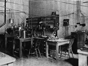 Research Laboratory of Ernest Rutherford at Cambridge