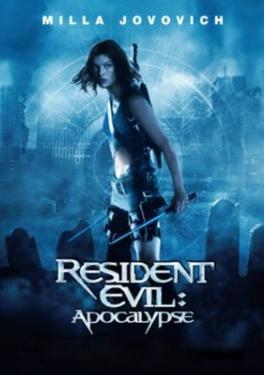 Resident Evil Apocolypse Movie Poster