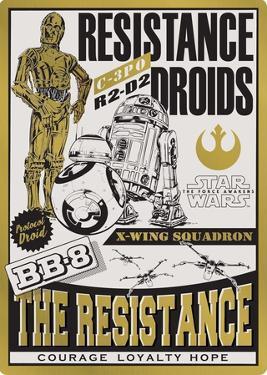 Resistance Droids